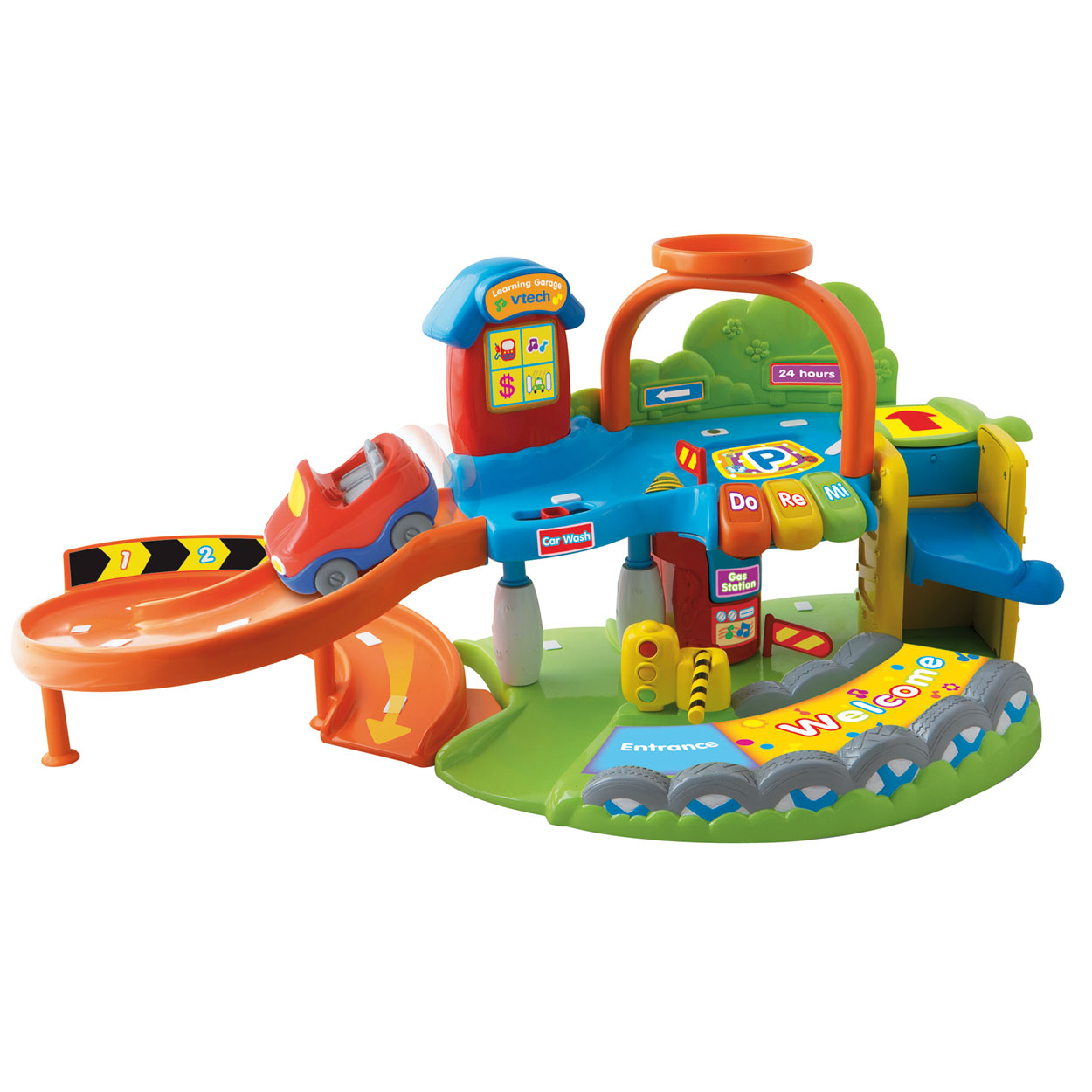 Fisher Price Little People Garage 5 16 Sold Fisher