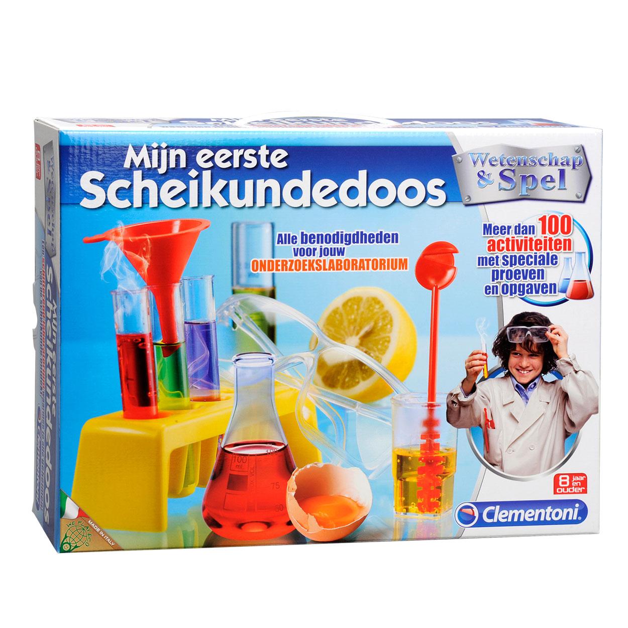 Scheikunde doos mijn eerste Chemieset online kopen : Lobbes.nl