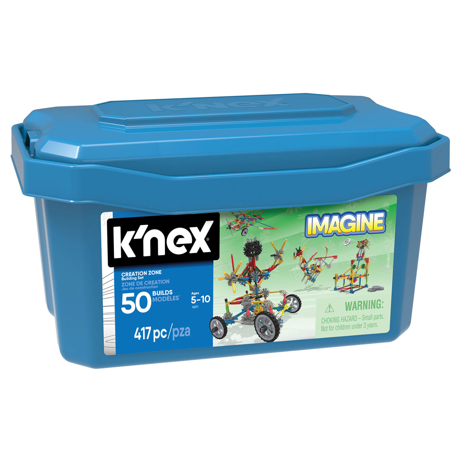 K'Nex Creation Zone Box, 50 Modellen
