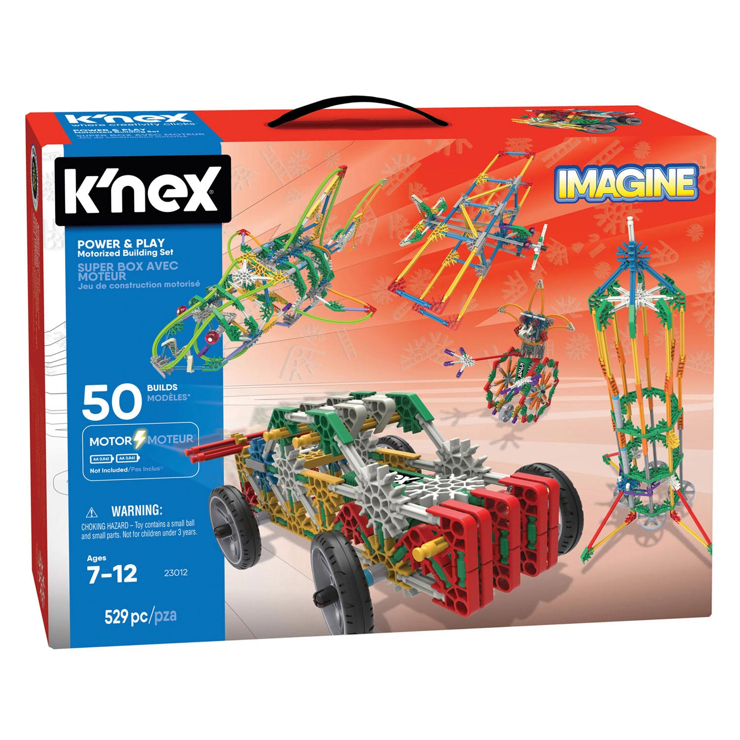 K'Nex Power & Play, 529dlg.