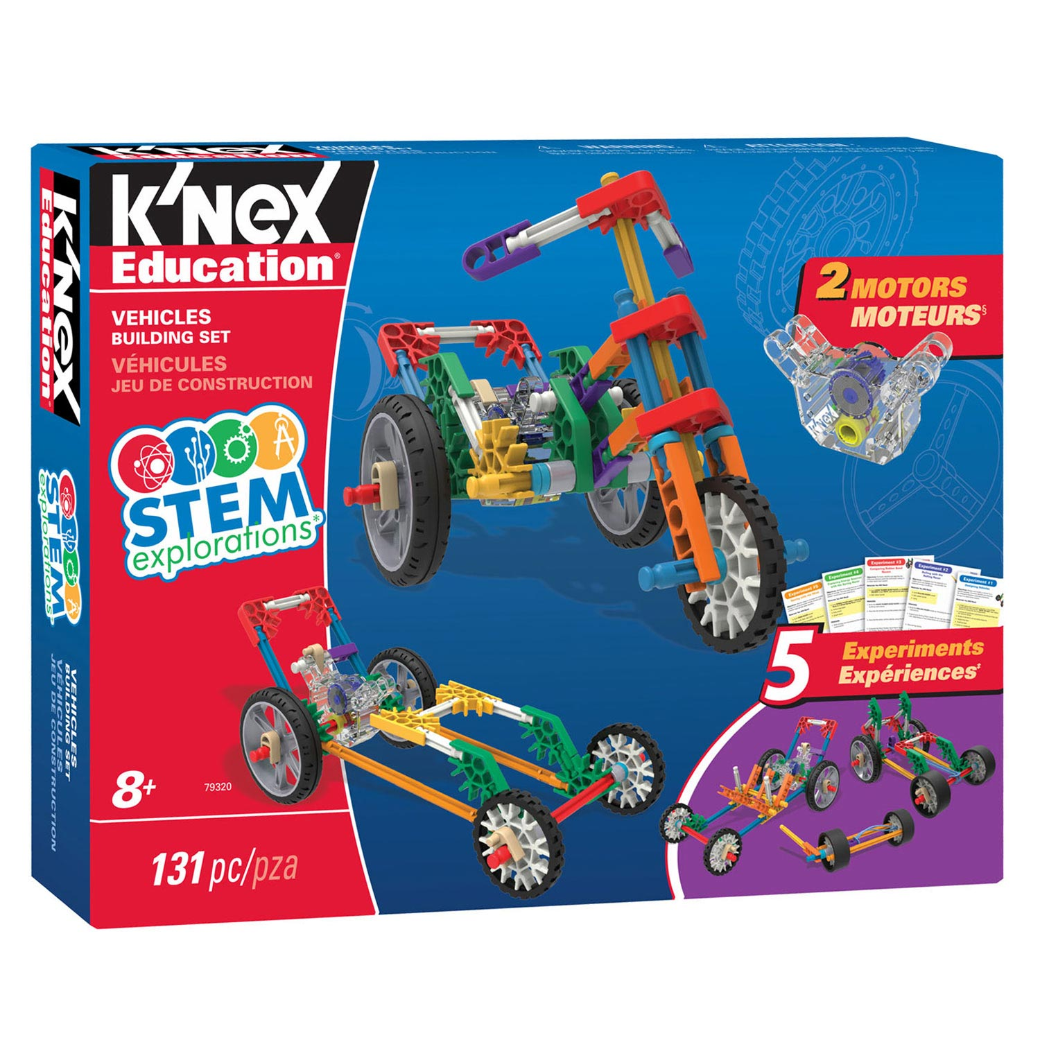 K'Nex Stem Explorations: Vehicles Building Sets