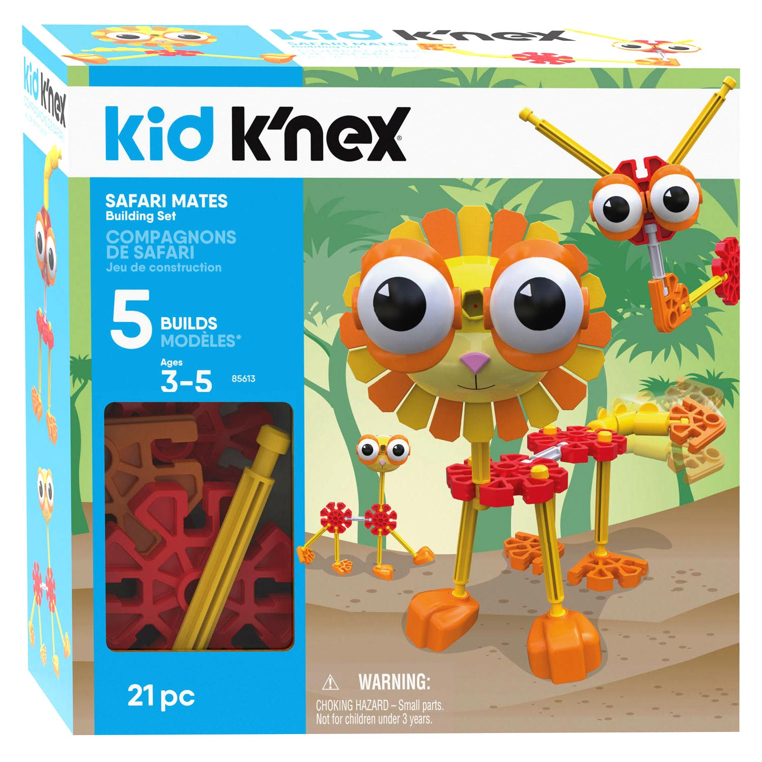 Kid K'Nex Bouwset - Safari Mates