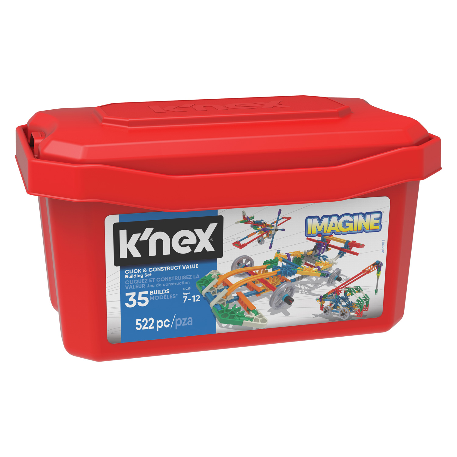 K'Nex Value Box, 522 dlg.