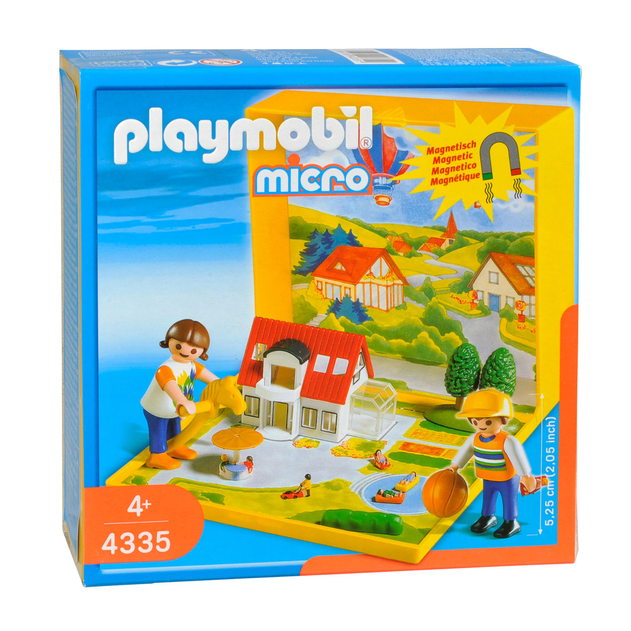 Playmobil 4335 micro wereld woonhuis online kopen for Micro playmobil