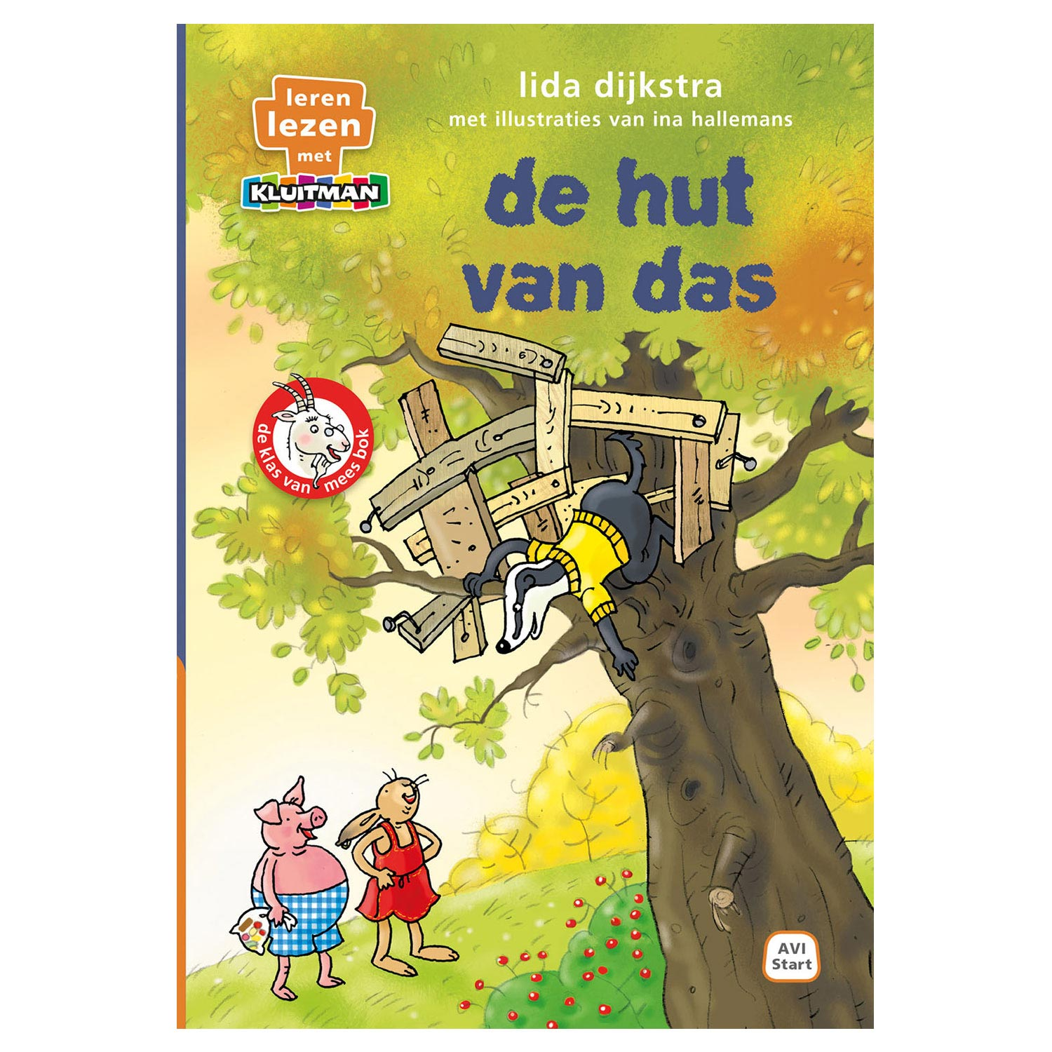 De hut van das - AVI Start