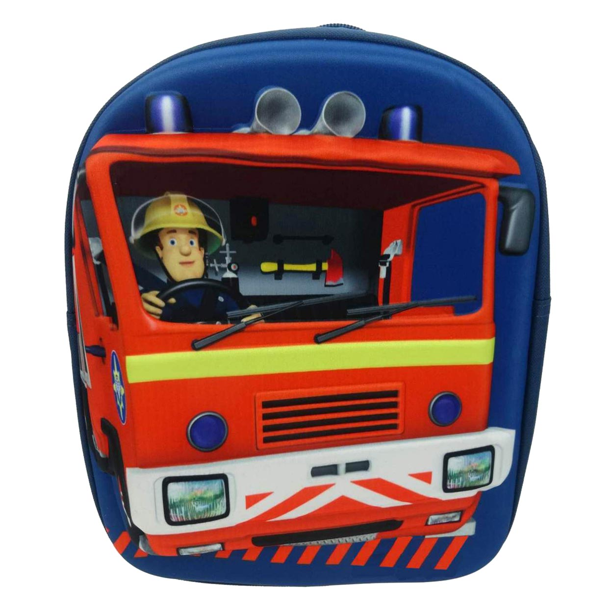 7a2f528ae6c Brandweerman Sam 3D Rugzak online kopen   Lobbes.nl
