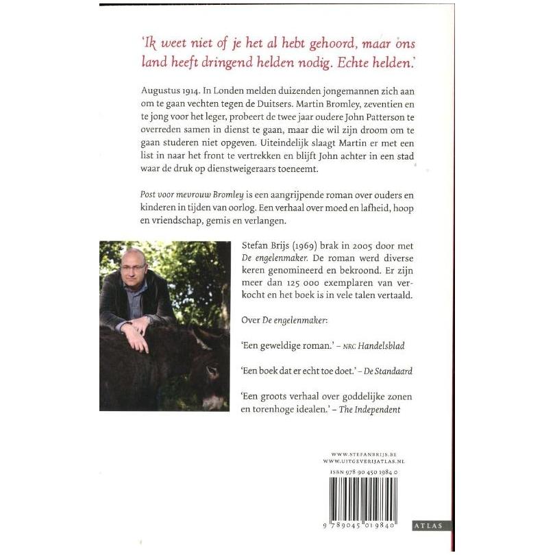 Citaten Post Voor Mevrouw Bromley : Post voor mevrouw bromley online kopen lobbes