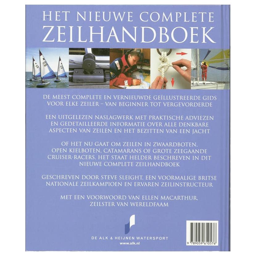 het nieuwe complete zeilhandboek online kopen lobbesnl