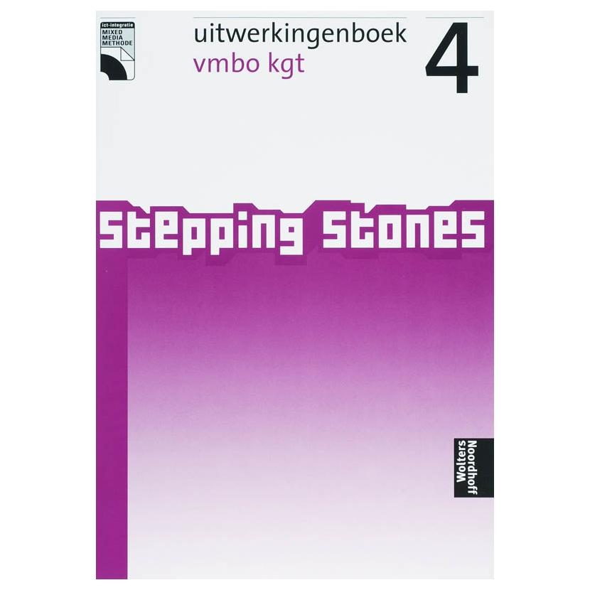 Stepping stones 4 Vmbo Kgt Uitwerkingenboek online kopen ... Stepping Stones Online Noordhoff