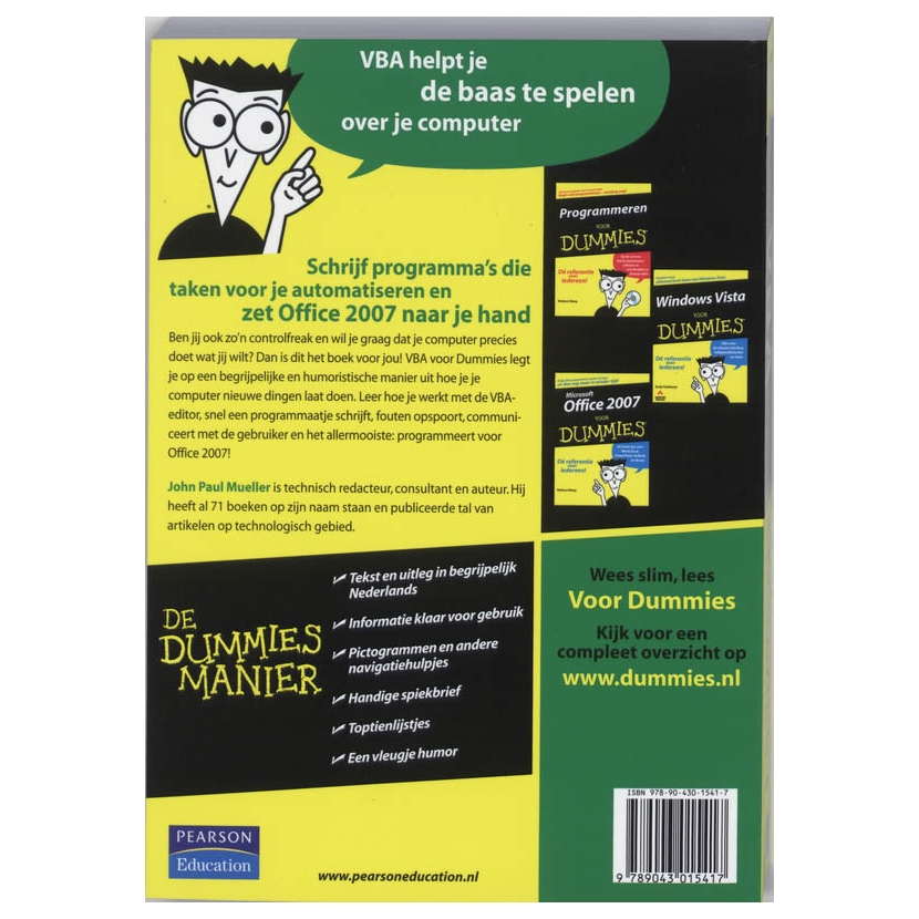 vba for dummies mueller pdf