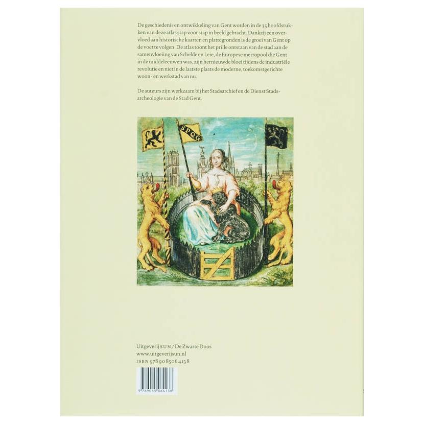 Historische atlas van Gent online kopen : Lobbes.nl
