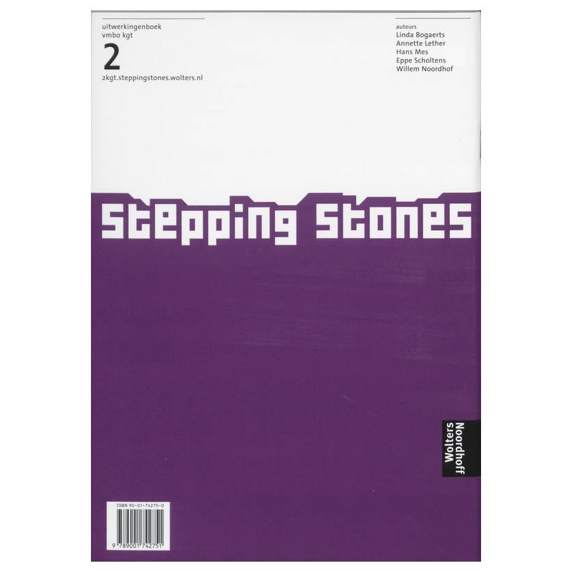 Stepping Stones 2 Vmbo kgt Uitwerkingenboek online kopen ... Stepping Stones Online Noordhoff