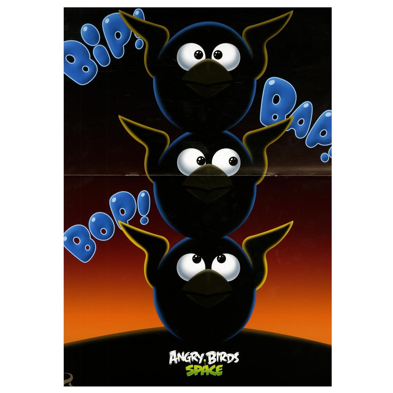 angry birds posterboek online kopen lobbesnl