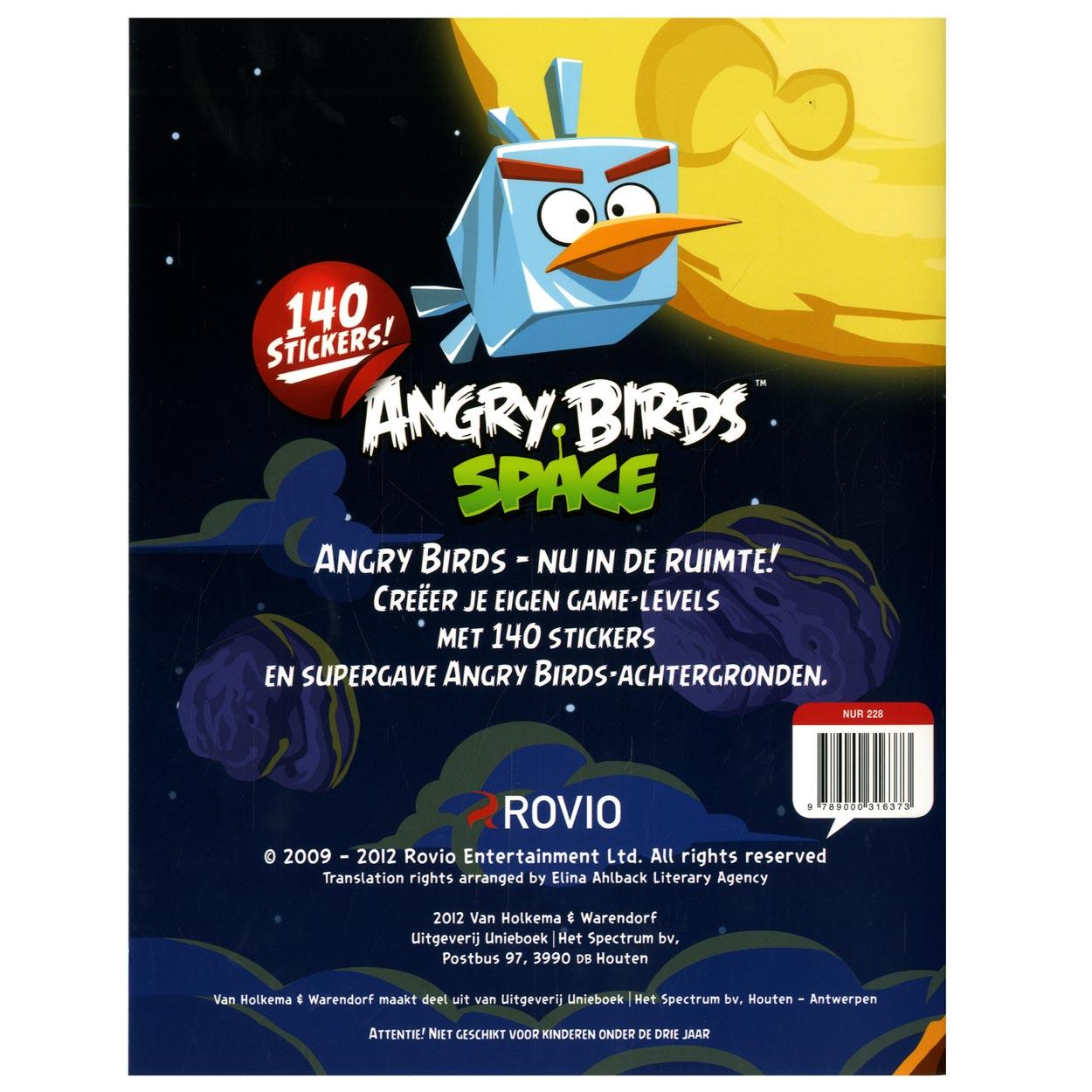 angry birds stickerboek online kopen lobbesnl