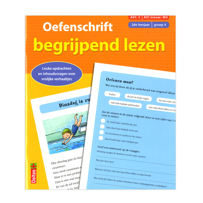 Oefenschrift begrijpend lezen groep 4 2de leerjaar online for Begrijpend lezen groep 4