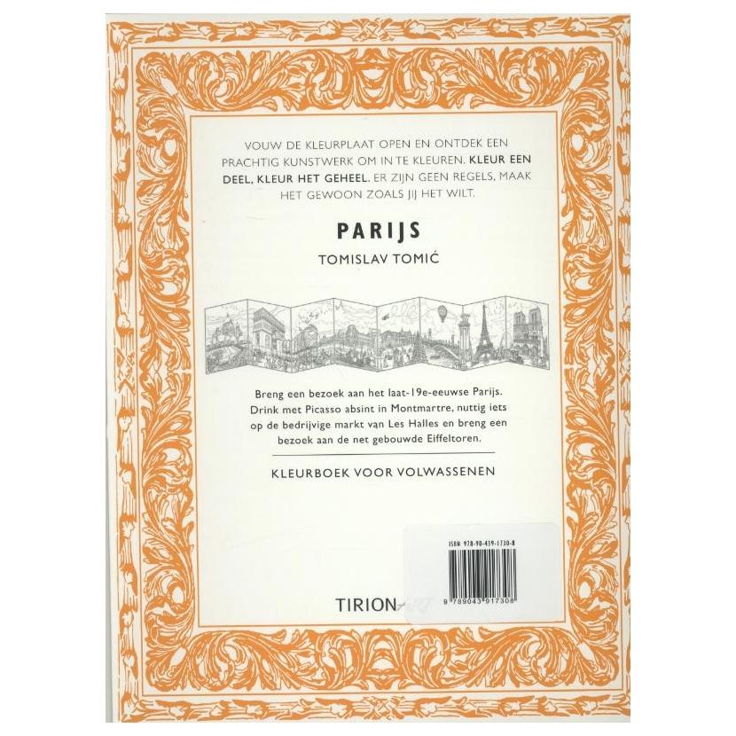 Kleurplaten Voor Volwassenen Parijs.Kleurboek Voor Volwassenen Parijs Online Kopen Lobbes Nl