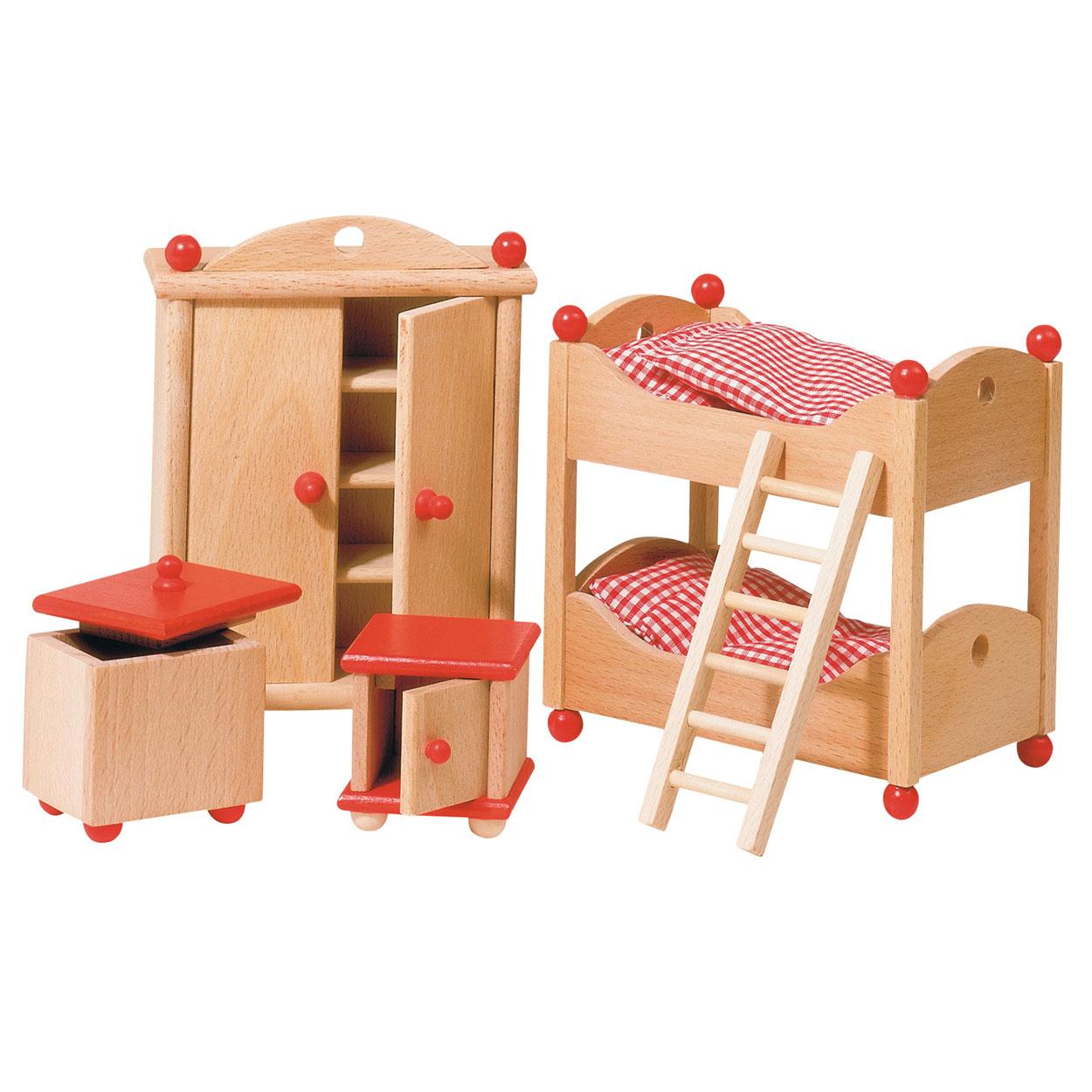 Poppenhuis meubeltjes kinderkamer online kopen for Meubels poppenhuis
