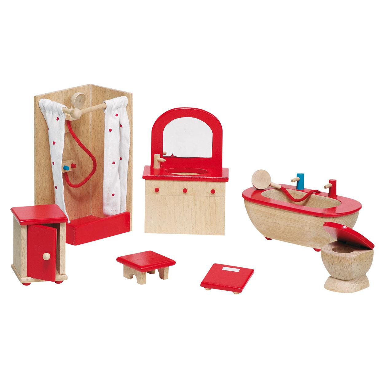 Poppenhuis meubeltjes badkamer online kopen for Meubels poppenhuis