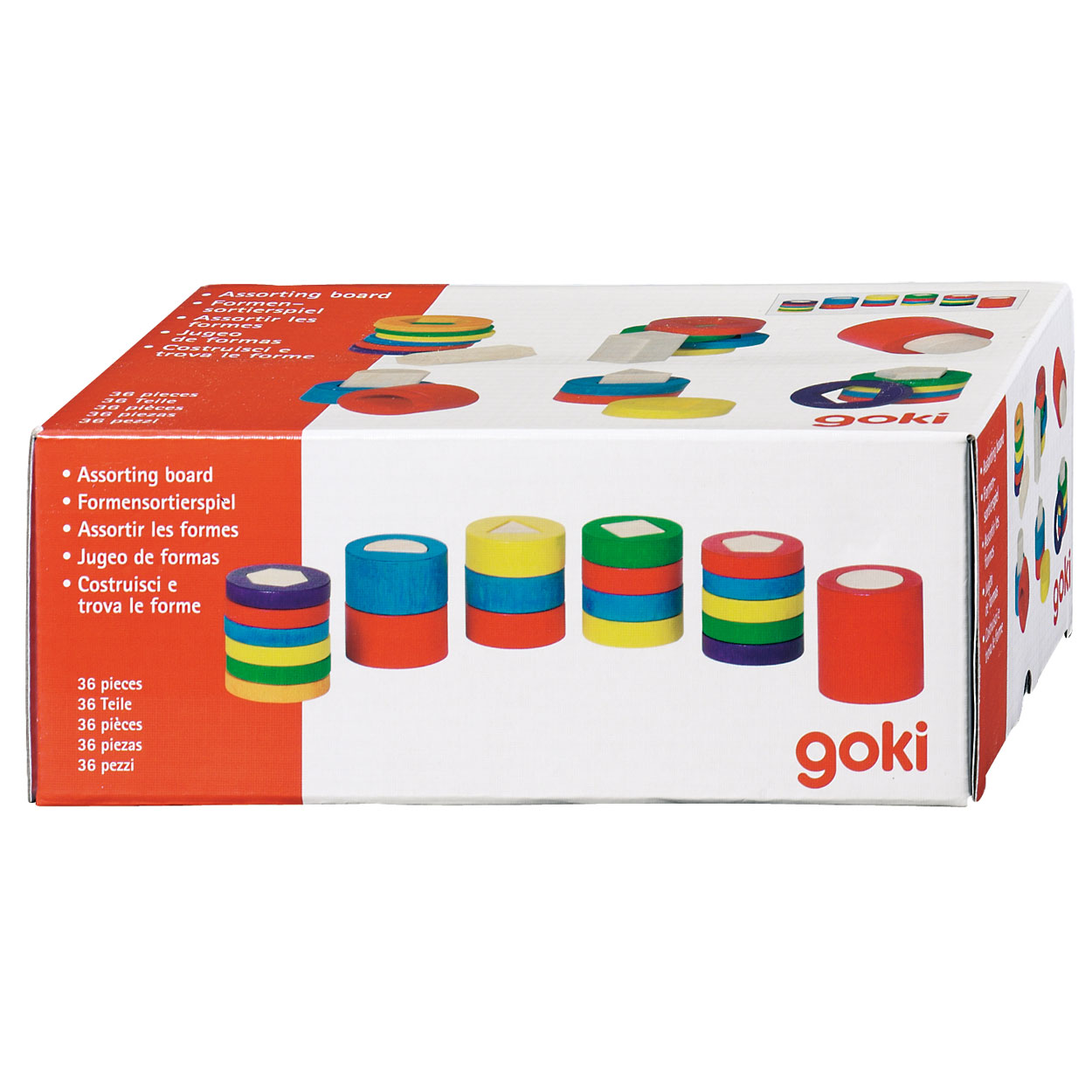 e72d5508ef8 Sorteer Vormen En Kleuren, 36 Dlg. online kopen   Lobbes Speelgoed