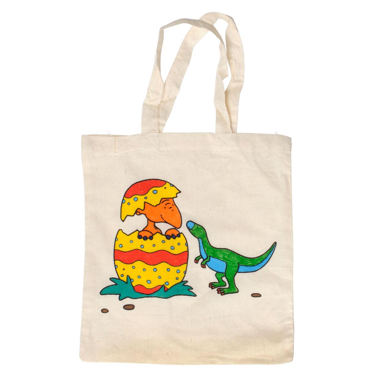 e5b65110255 Katoenen Draagtas - Dinosaurus online kopen | Lobbes.nl