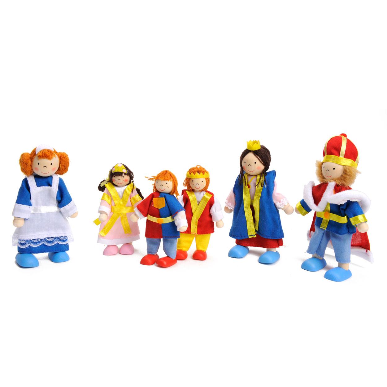 Poppenhuis poppen koninklijke familie online kopen for Poppenhuis poppetjes