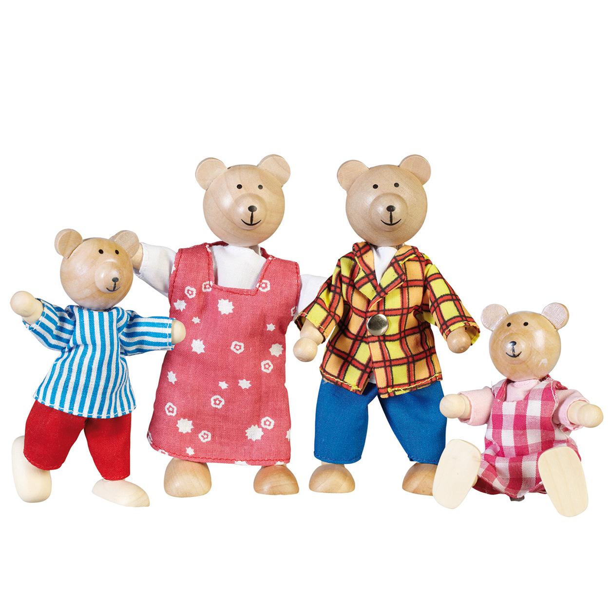 De beren poppenhuis familie online kopen for Poppenhuis poppetjes