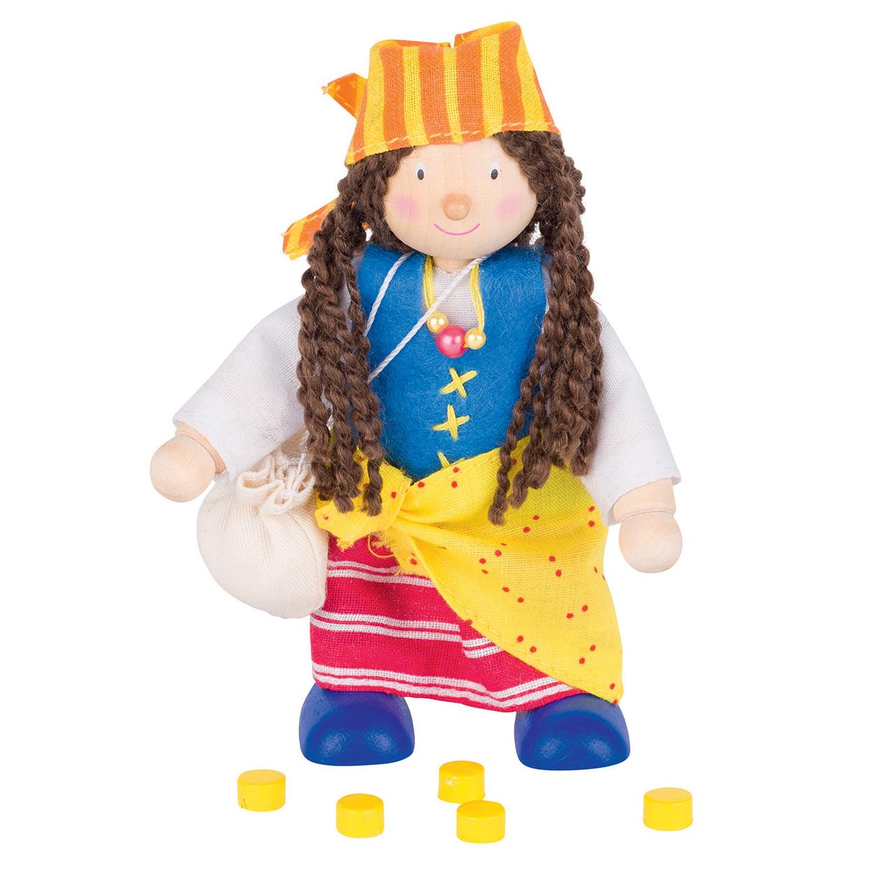 Poppenhuis pop piraat meisje online kopen for Poppenhuis meisje