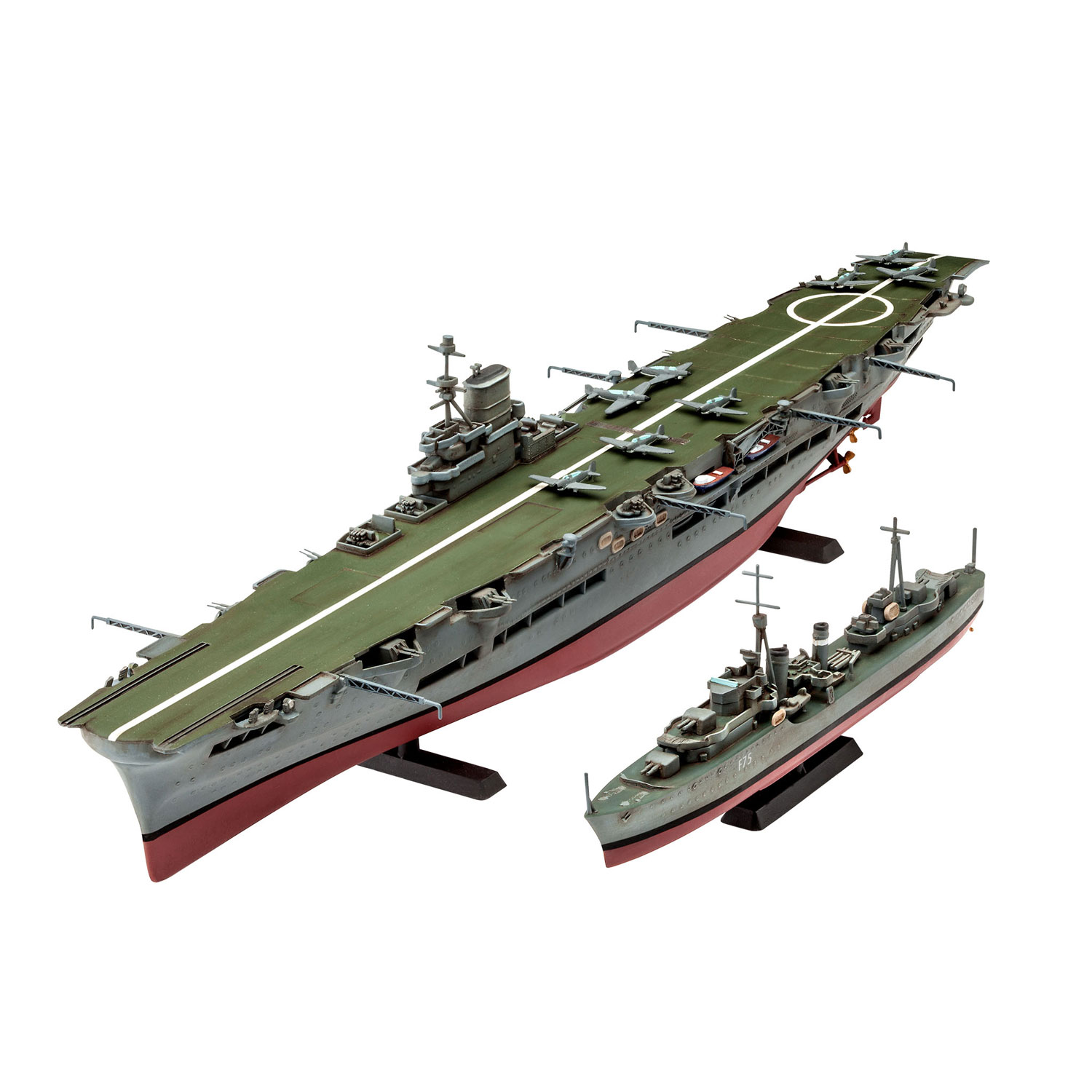 Revell HMS Ark Royal & Tribal Class Destoyer