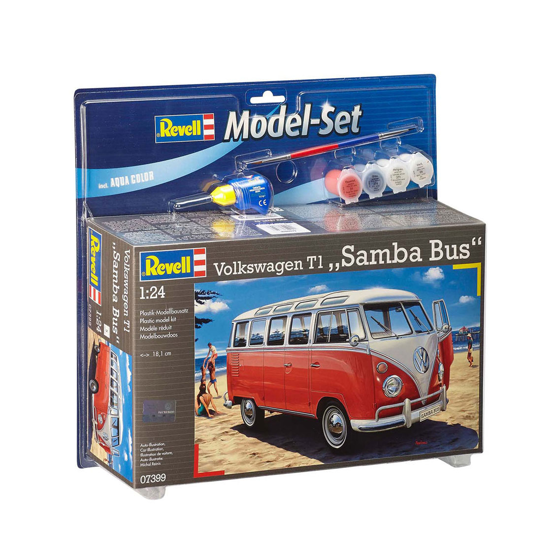 Revell Model Set VW T1 Samba Bus