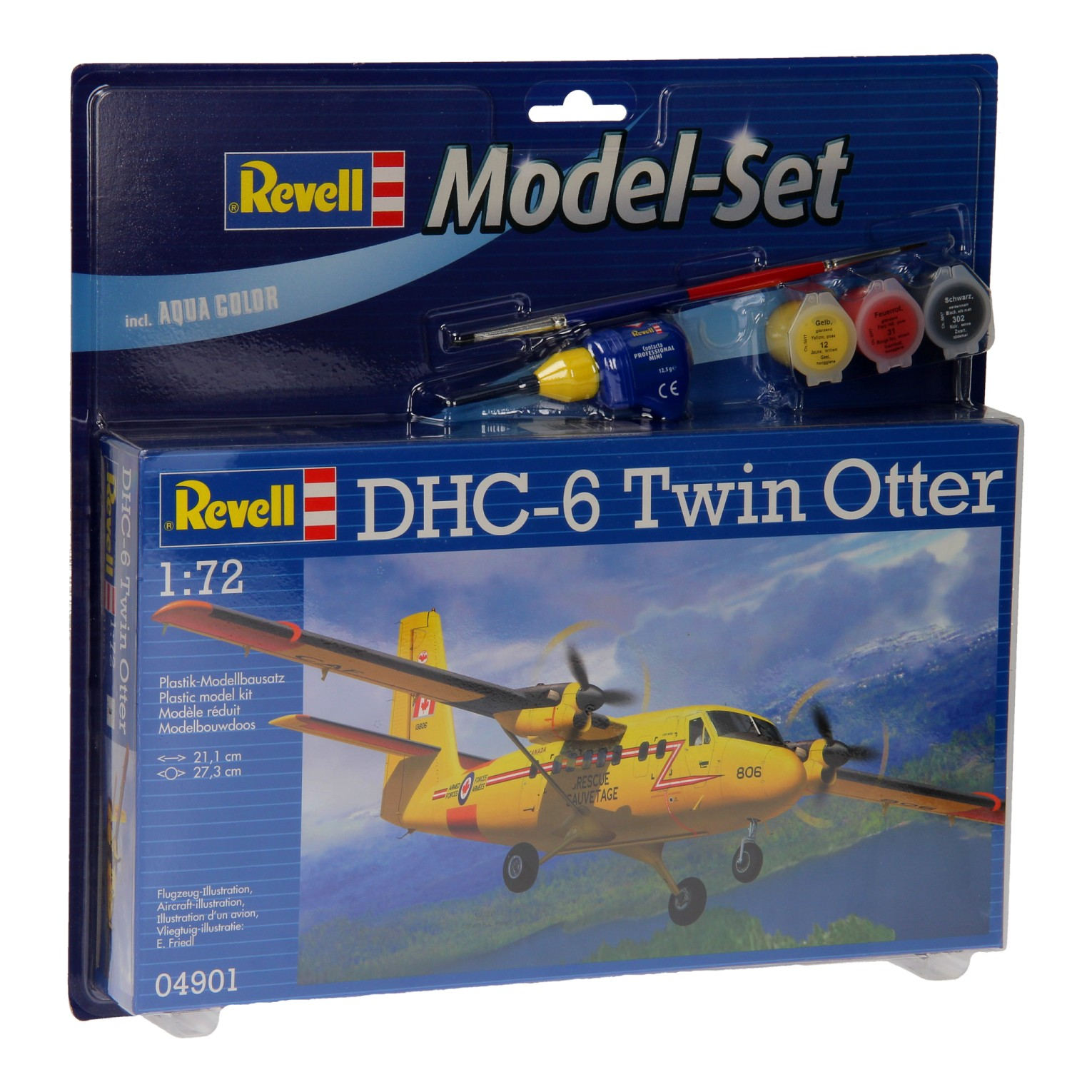 Revell Model Set DHC-6 Twin Otter
