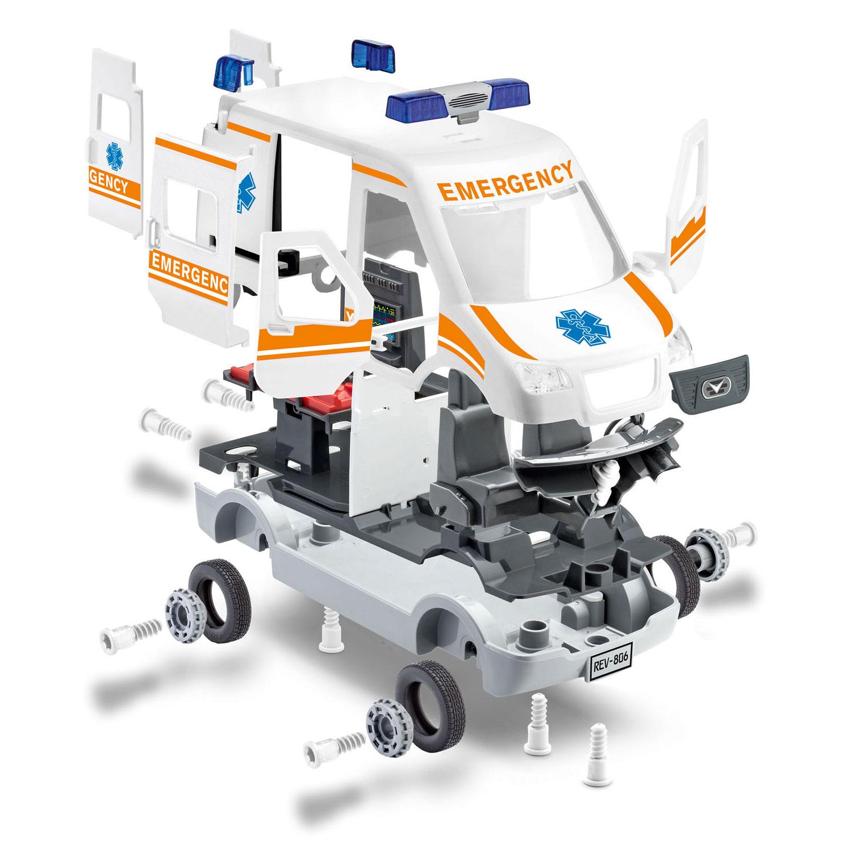 Revell Junior Kit Ambulance online kopen | Lobbes Speelgoed