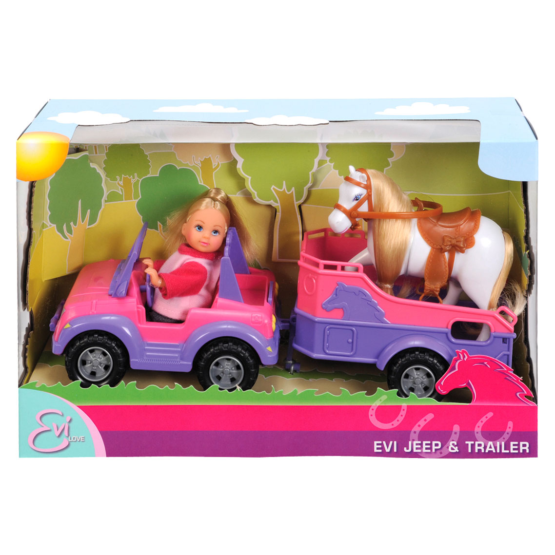 Evi Love Horse Trailer