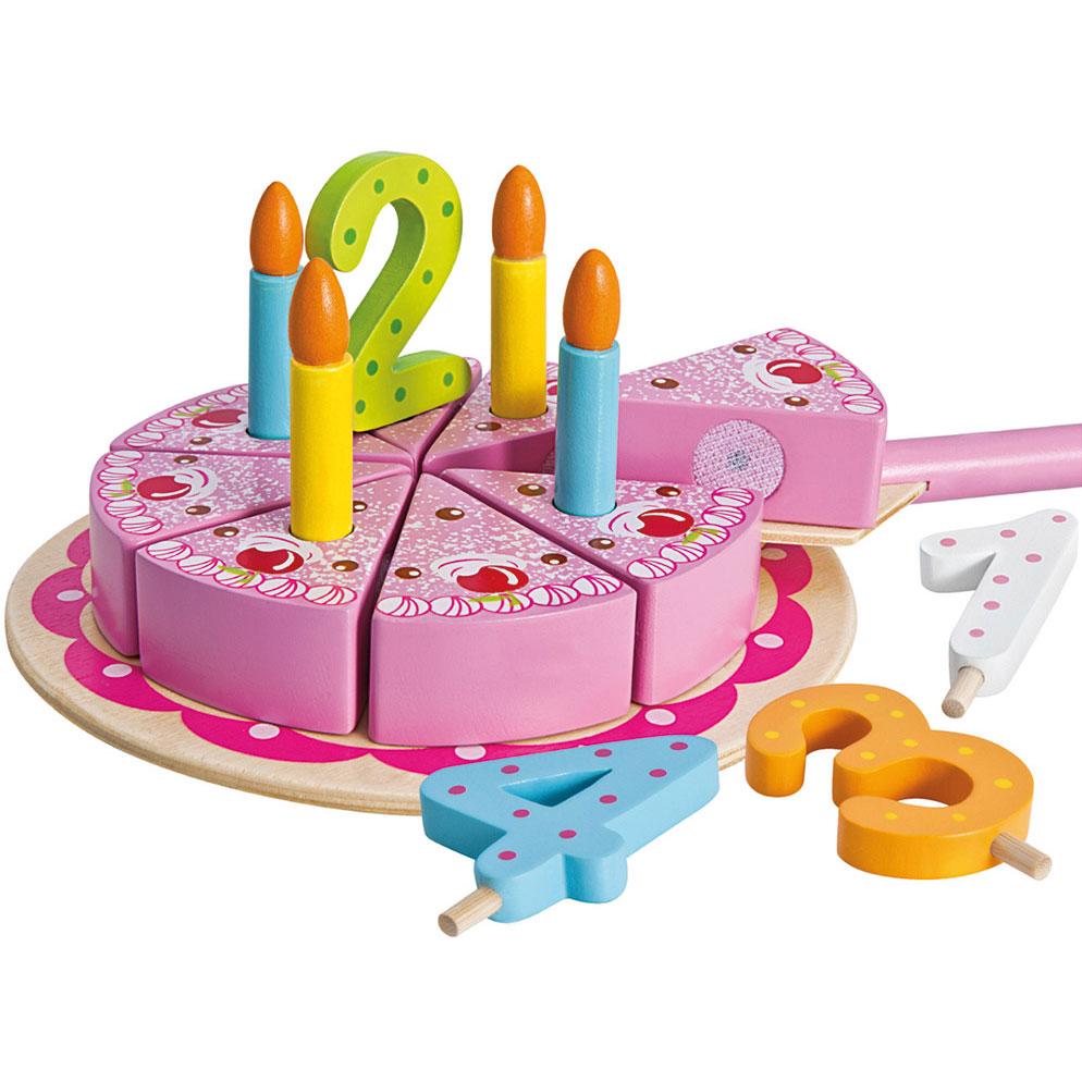 Extreem Eichhorn Houten Verjaardagstaart, 18dlg online kopen | Lobbes.nl YV-52
