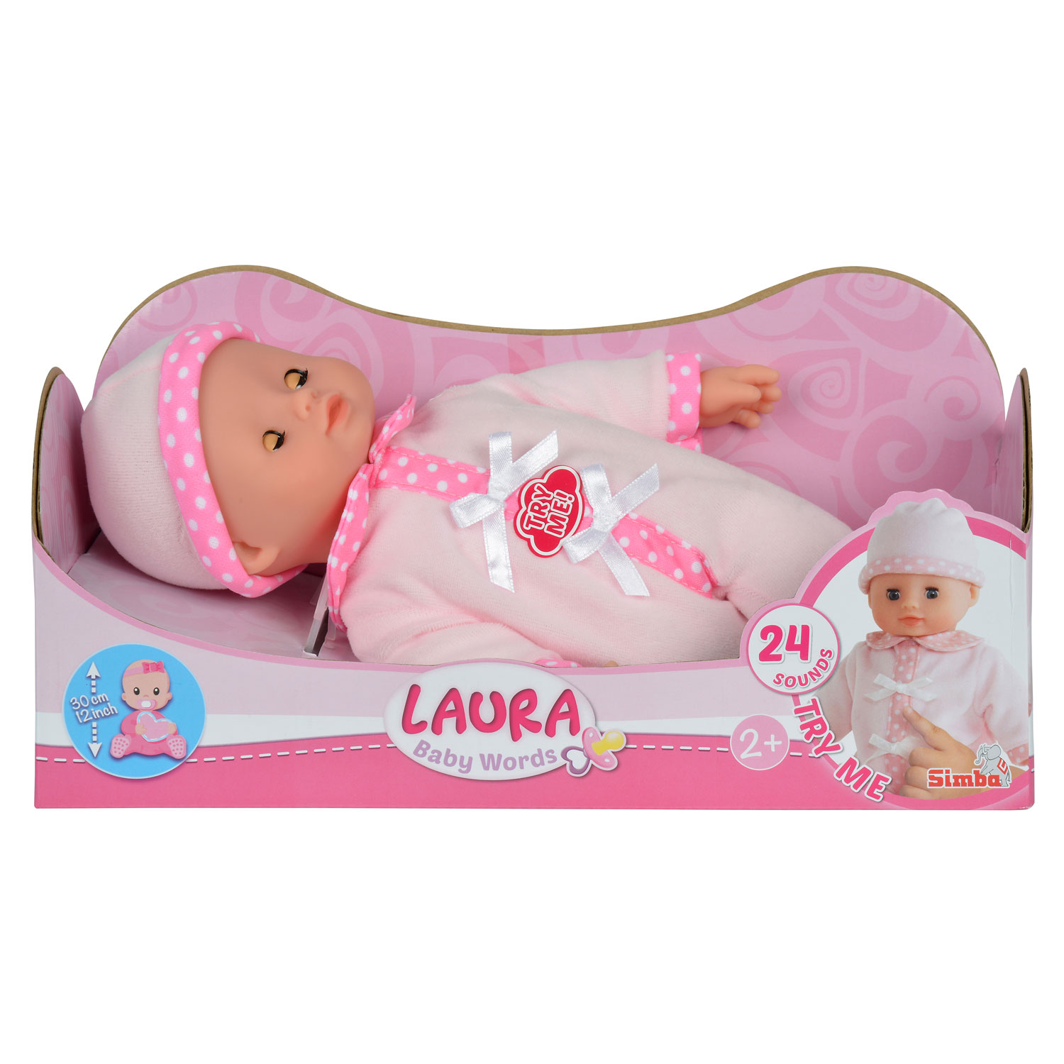 Baby Laura Pratende Pop