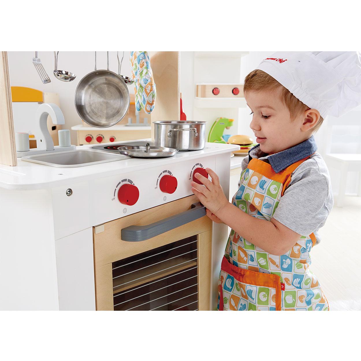 Veiligheid Kind Keuken : Hape Houten Keuken