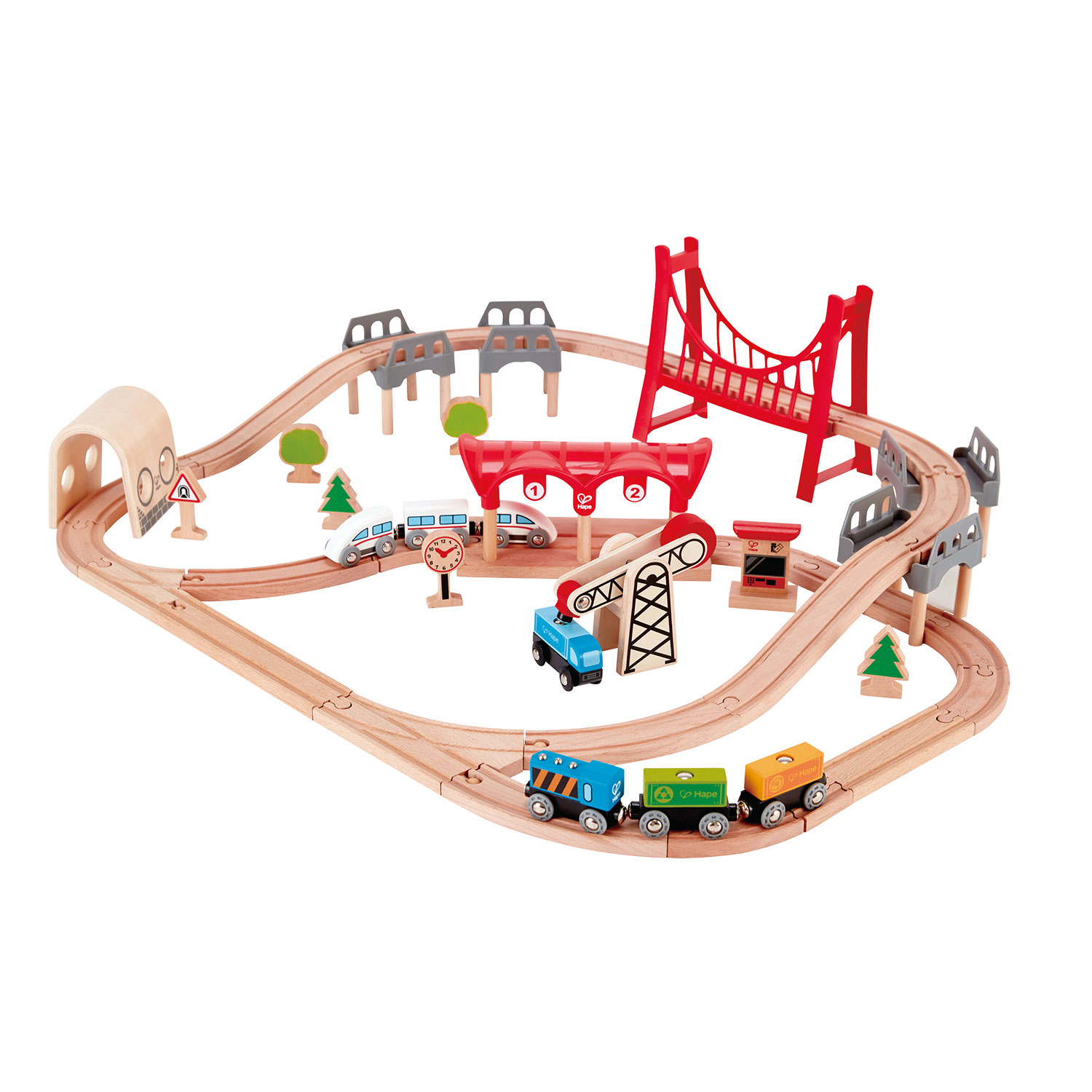 Hape Treinset Double Loop