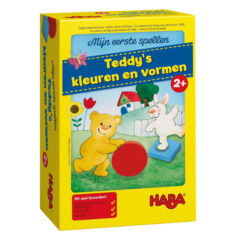 314a1eb2541 Haba Mijn Eerste Spellen - Teddy's Kleuren en Vormen online kopen ...