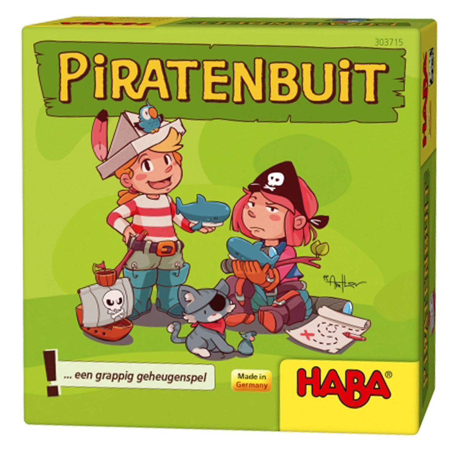 Haba Supermini Spel - Piratenbuit