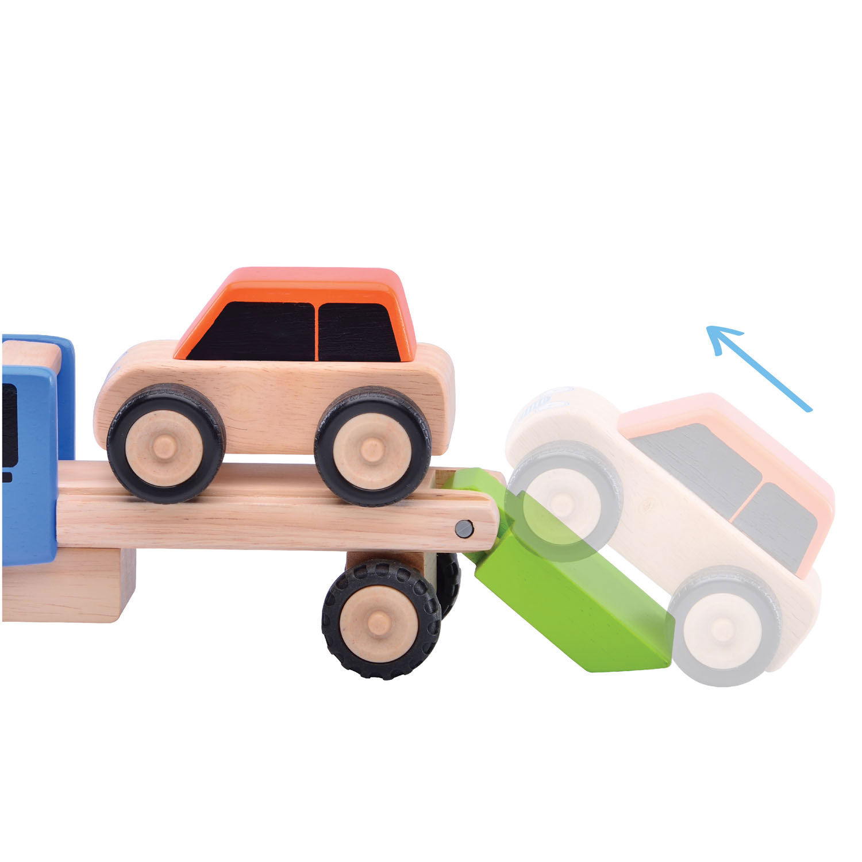 Wonderworld Houten Mini Transporter online kopen | Lobbes