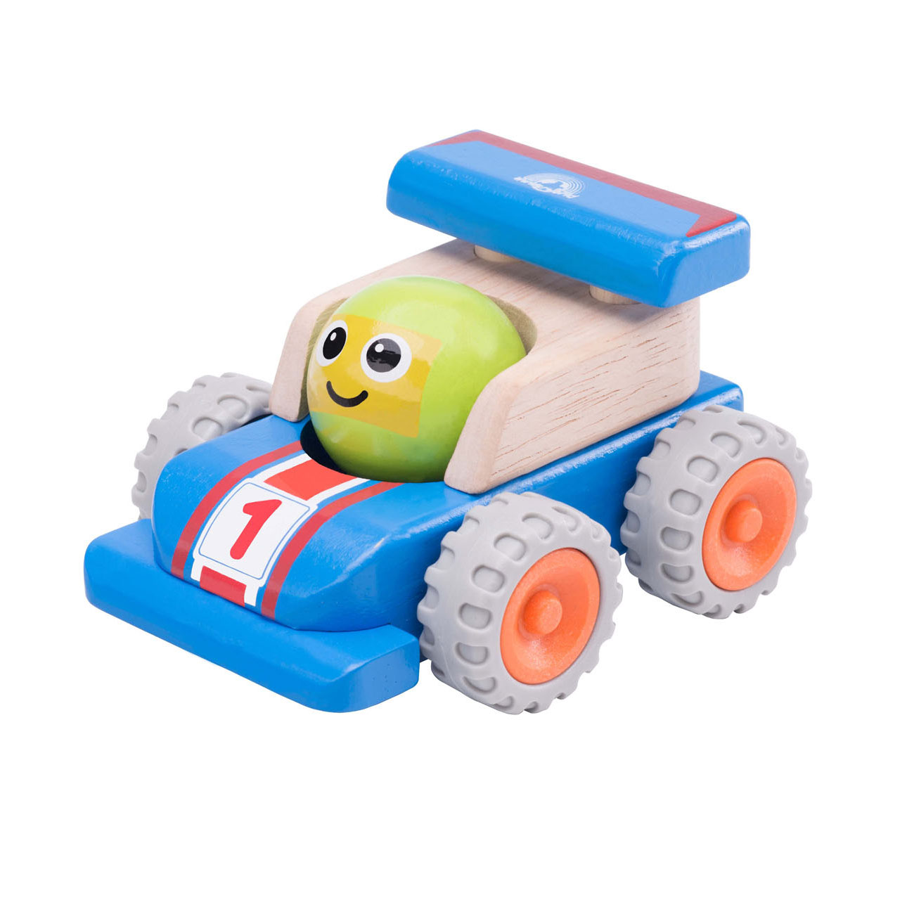 Wonderworld Houten Smiley Racewagen