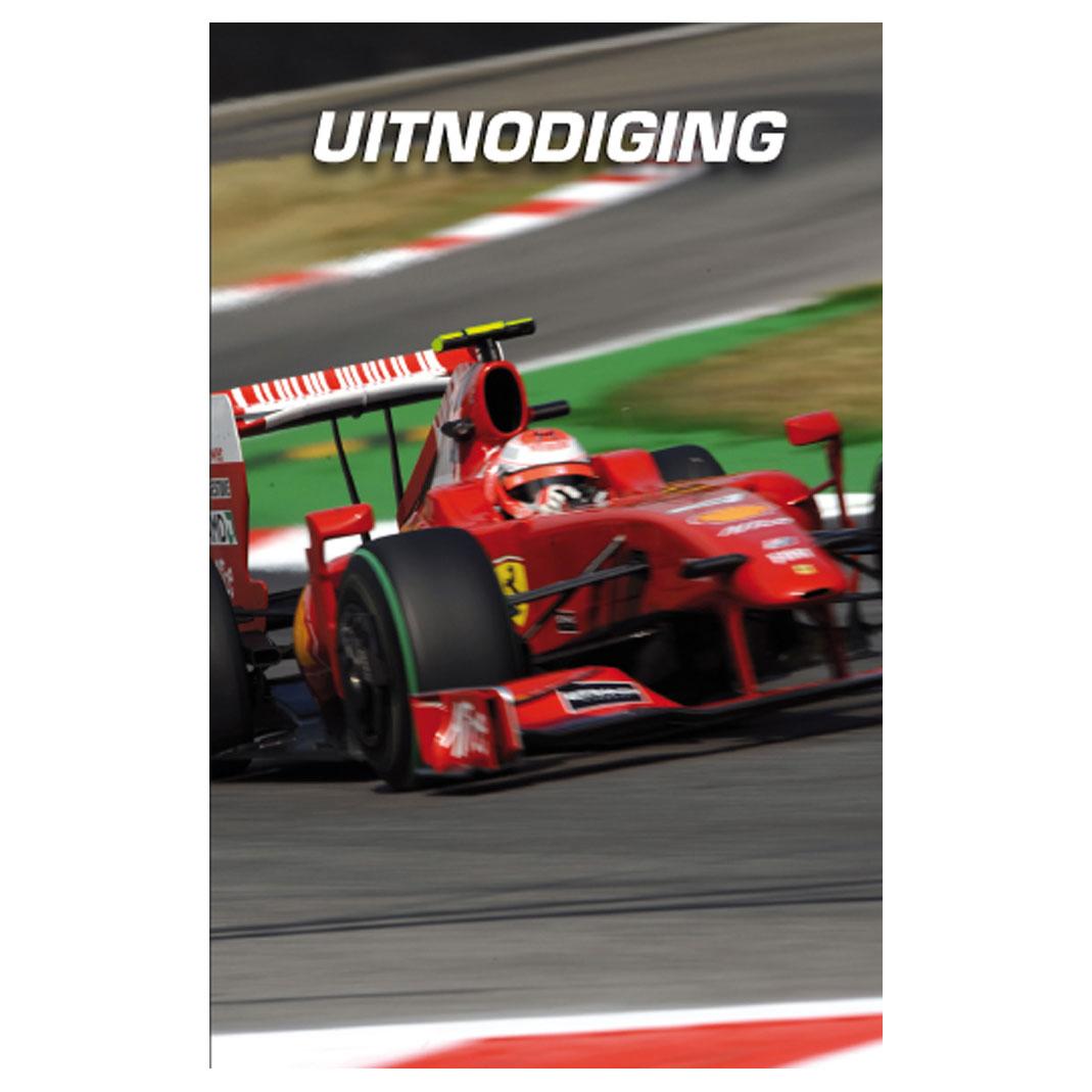 Uitnodigingen Raceauto Online Kopen Lobbes Nl