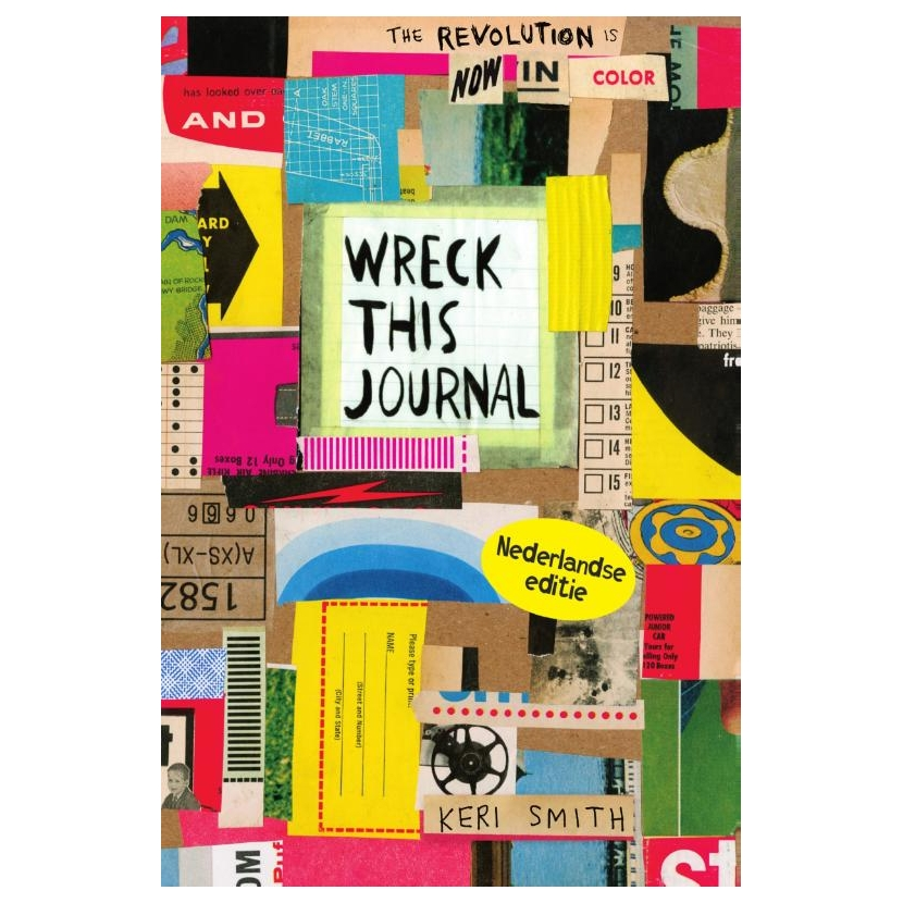 Wreck this journal- jubileumeditie