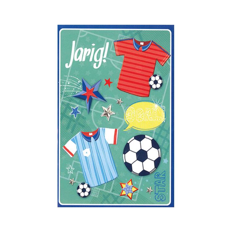 Wenskaart Verjaardag Voetbal Online Kopen Lobbes Nl