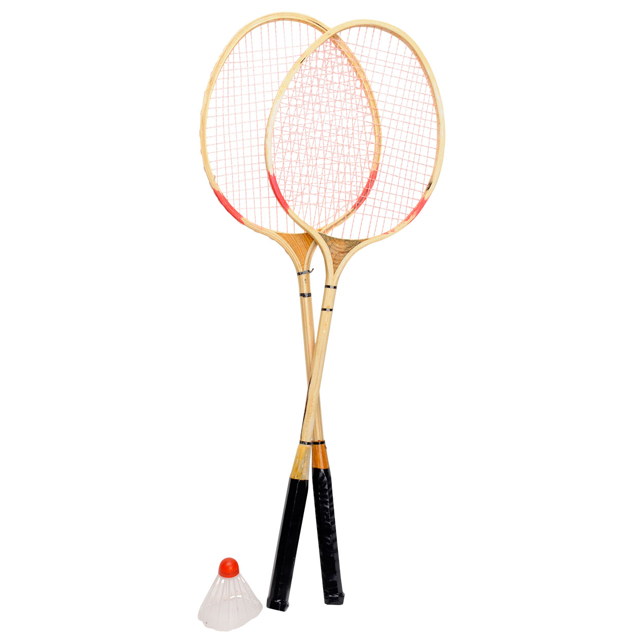 Houten Badmintonset Retro
