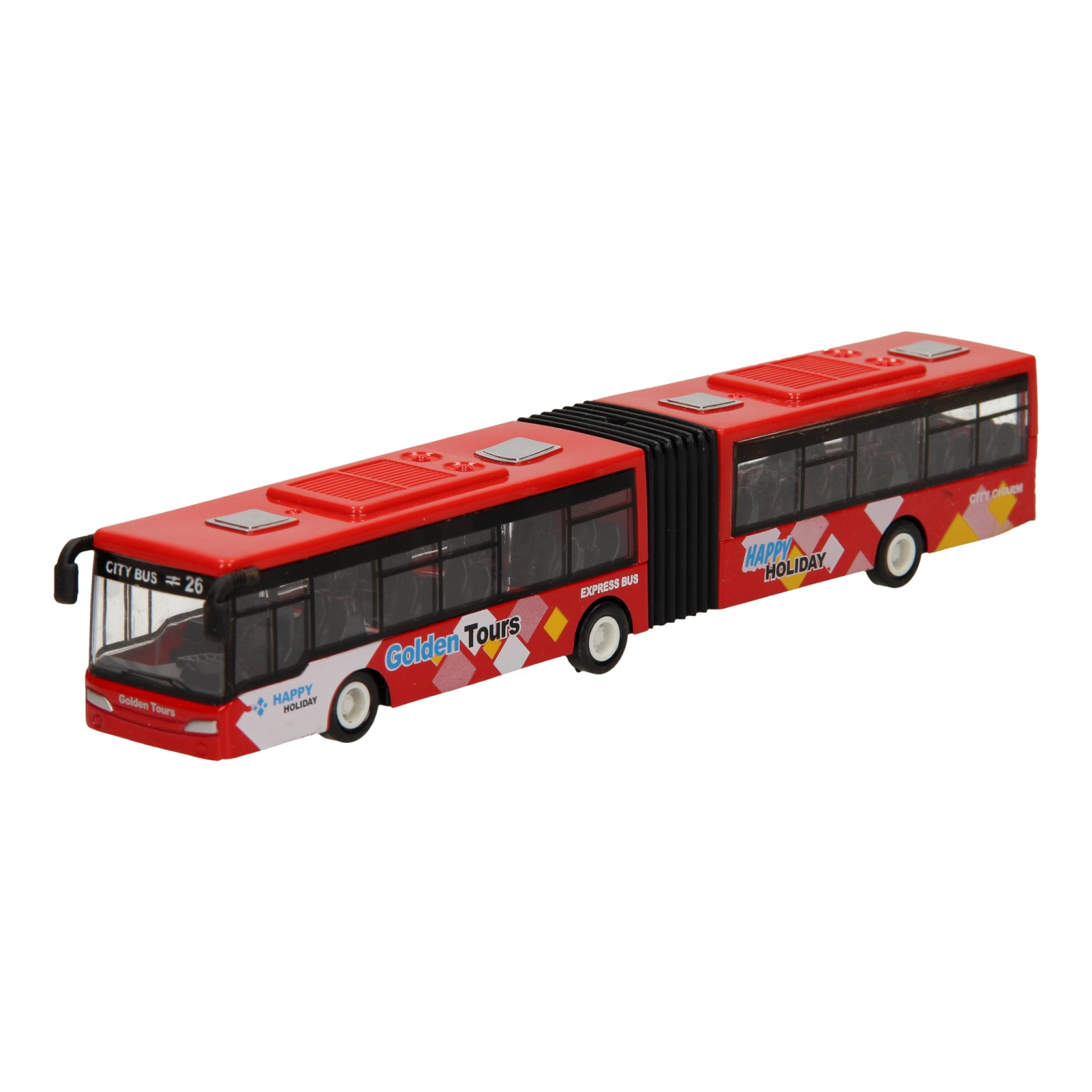 Metalen Trolleybus - Rood