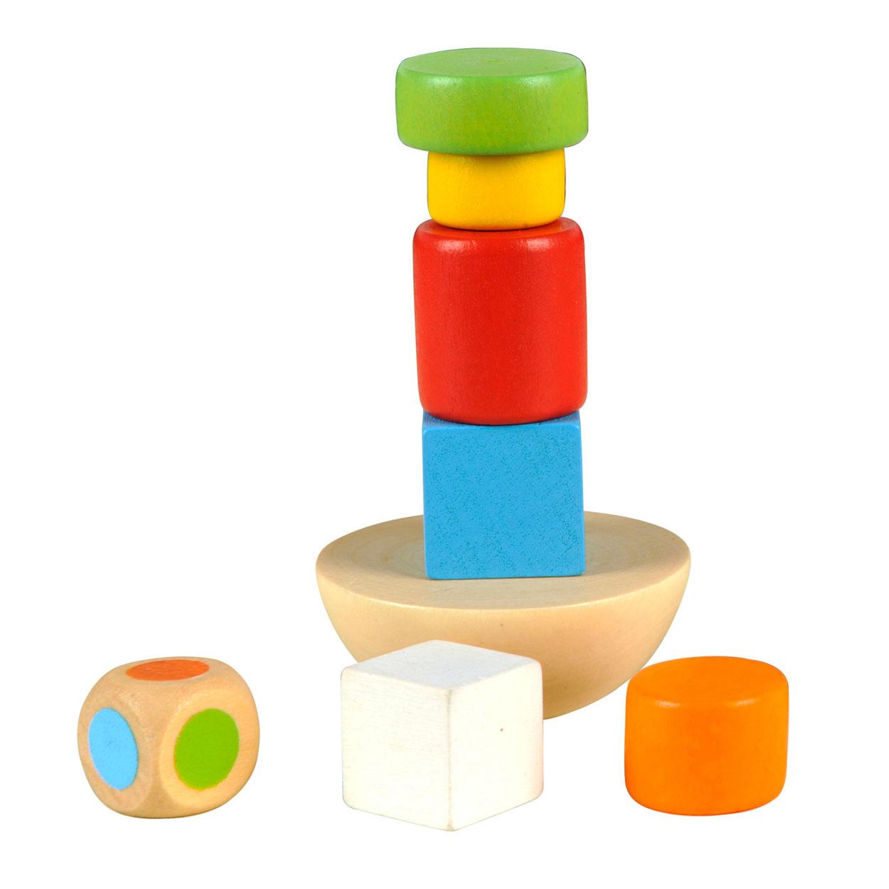 Houten Balansspel in Blik online kopen | Lobbes Speelgoed