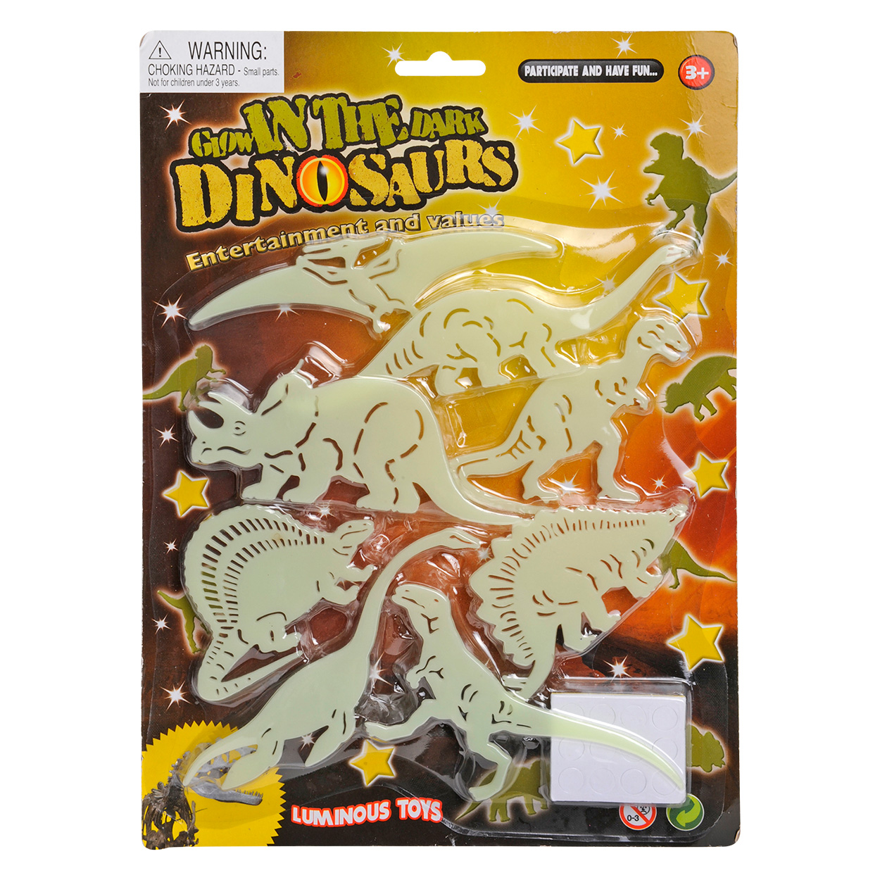 Glow in the Dark Dino's
