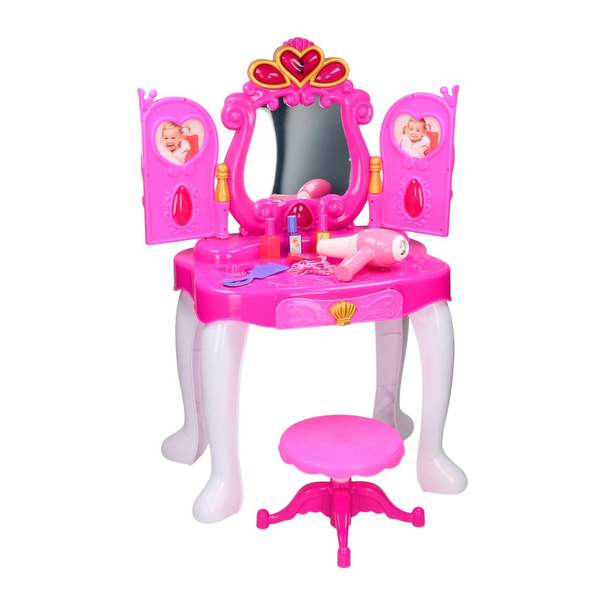 Kaptafel Voor Kinderen.Kaptafel Met Licht En Geluid Online Kopen Lobbes Speelgoed