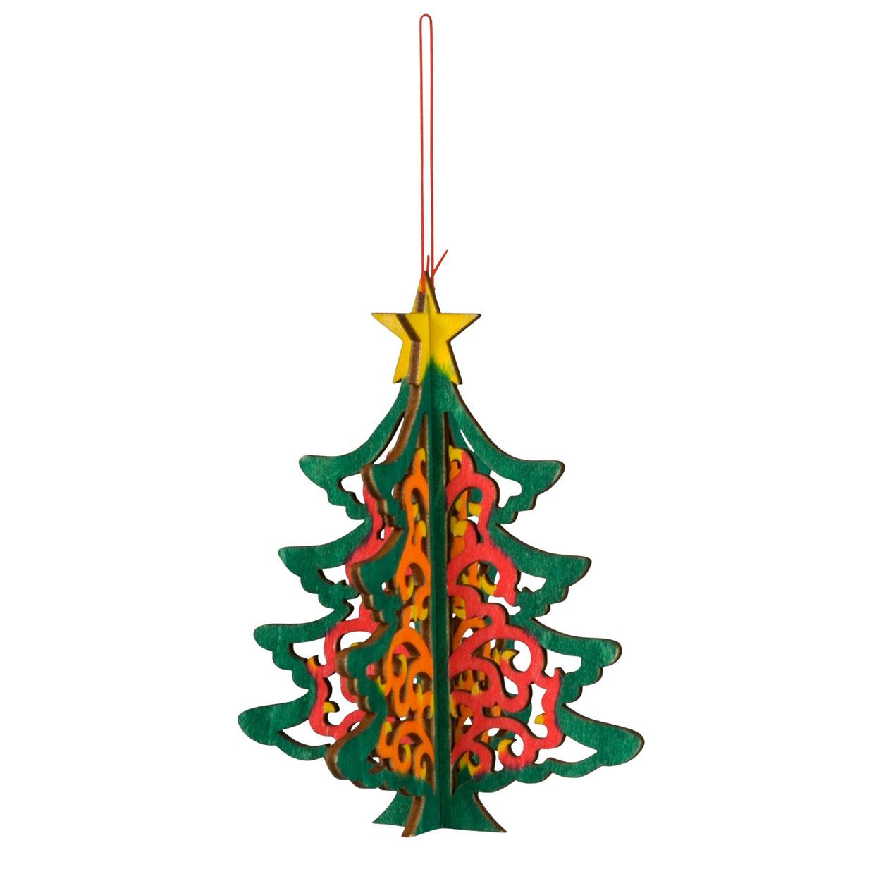 Kersthanger Kerstboom 3d Online Kopen Lobbes Speelgoed