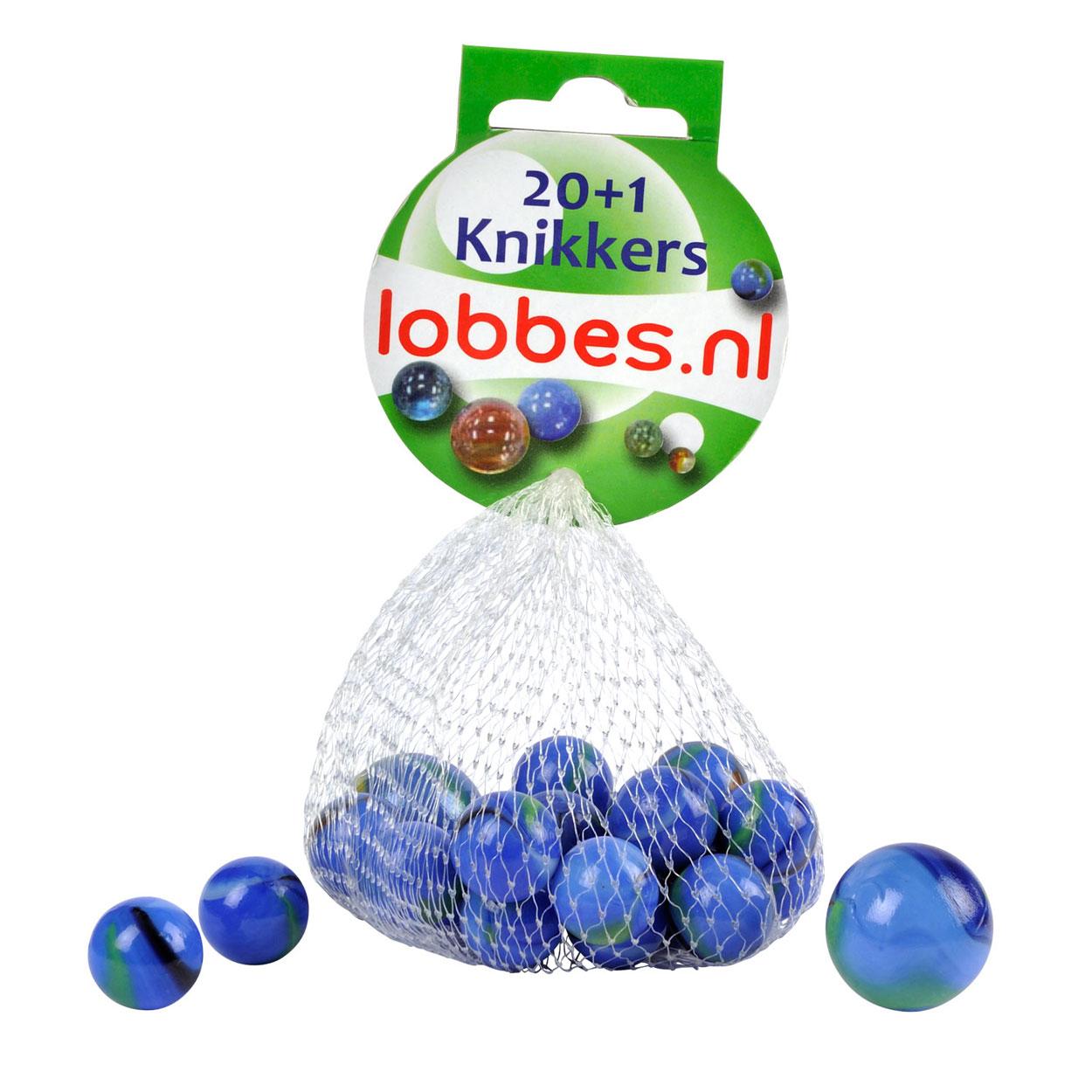 Knikkers kleur blauw 20 1st online kopen - Kleur blauw olie ...